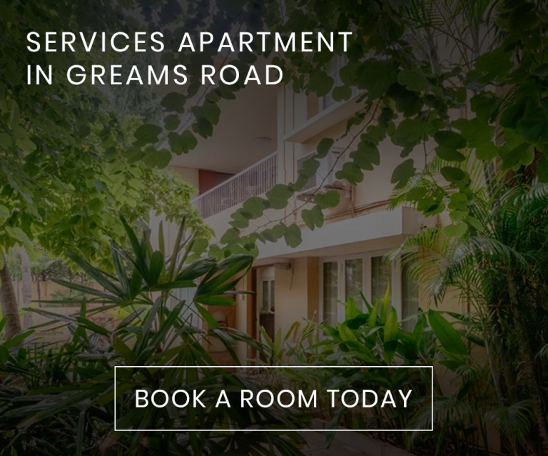 SERVICES APARTMENT IN GREAMS ROAD