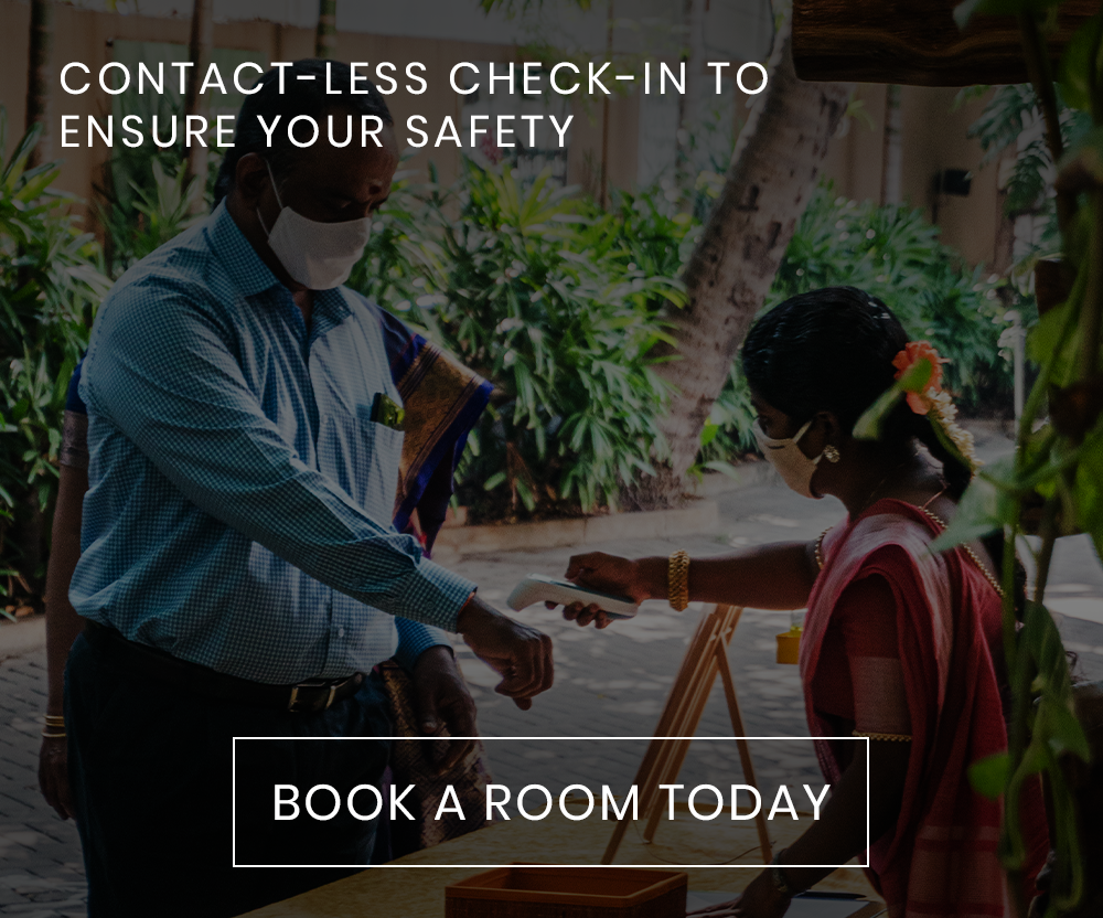 CONTACT-LESS CHECK-IN TO ENSURE YOUR SAFETY
