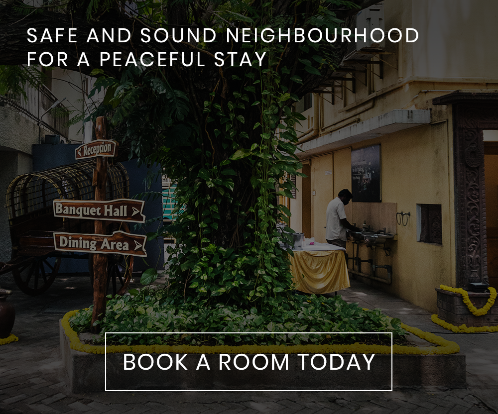 SAFE AND SOUND NEIGHBOURHOOD FOR A PEACEFUL STAY
